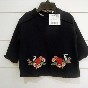 NWT Zara baby Navy shirt